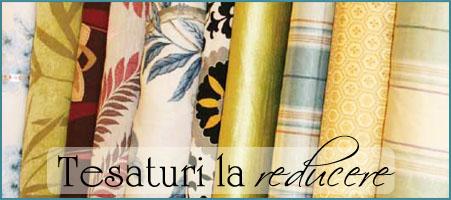 REDUCERI la perdele, draperii, tesaturi din STOC, reducere materiale textile ieftine