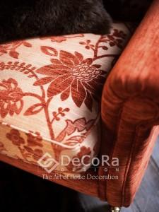 PxxT035-stofa_tapiserie_scaun_fotoliu_rosu_model_floral_uni