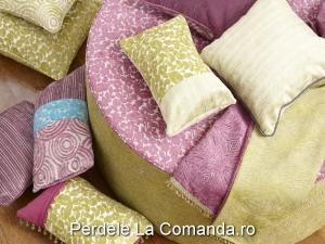 LxxA004-perne-decorative-catifea-model-floral-verde-dungi-bej-mov